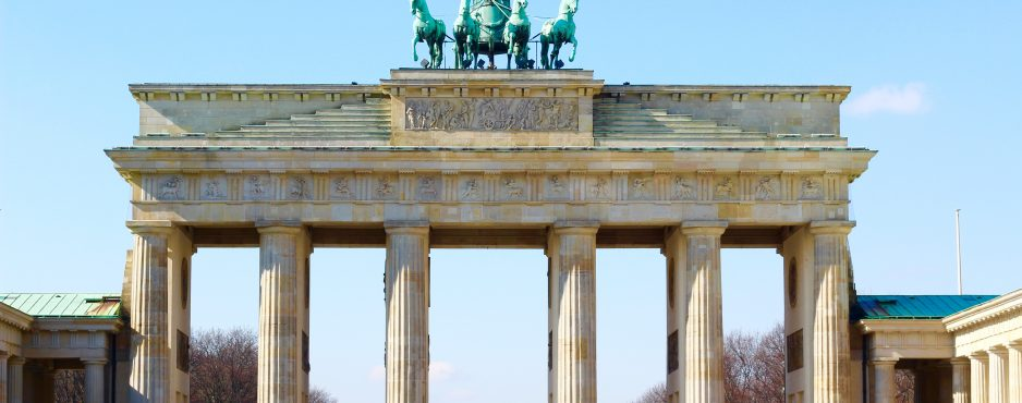 Berlin's 10 Best Attractions, one of which is the Brandenburg Gate - Berlin, Germany